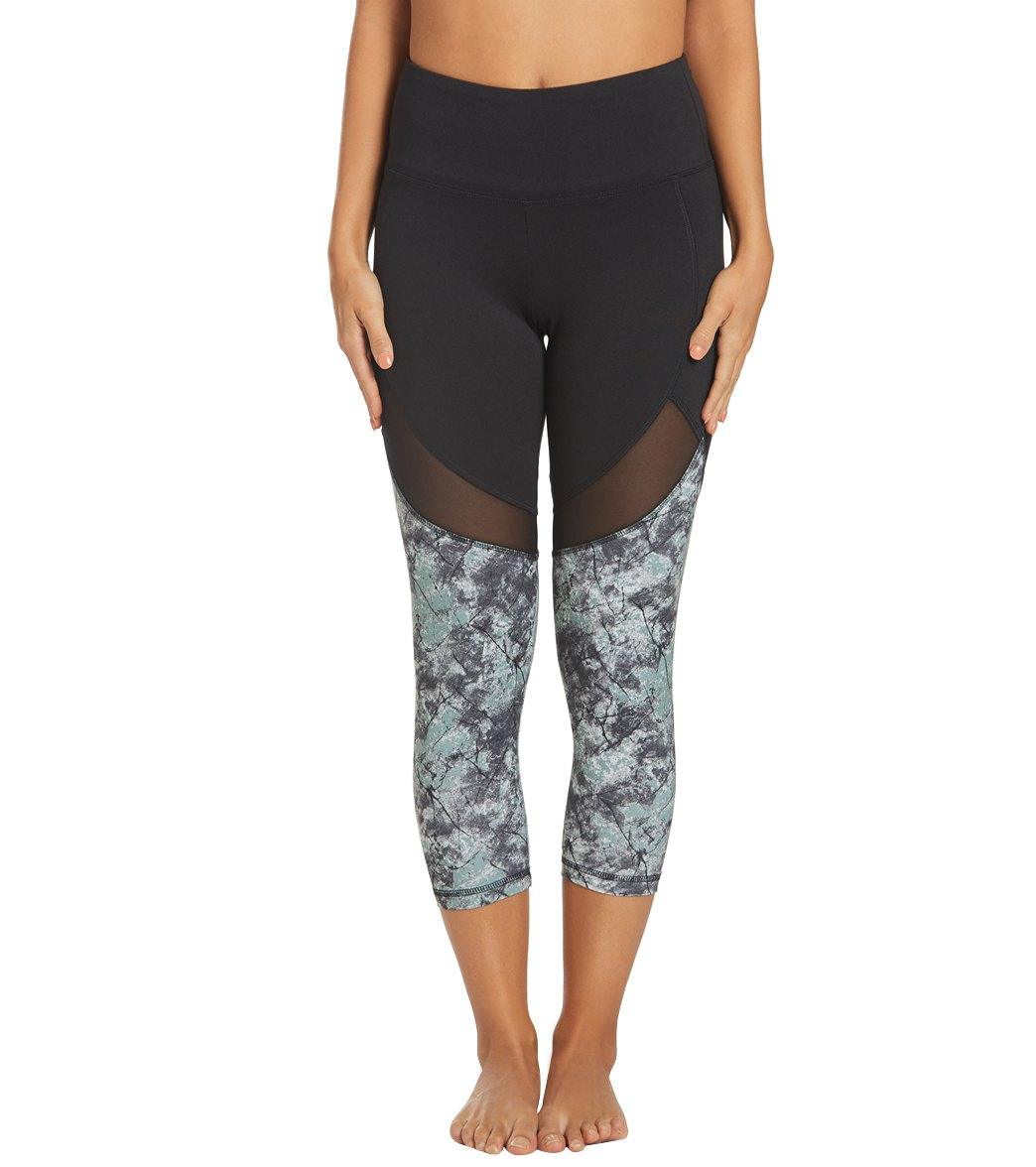 Balance Collection Marley 7/8 Yoga Leggings - Chinois Opality Cotton