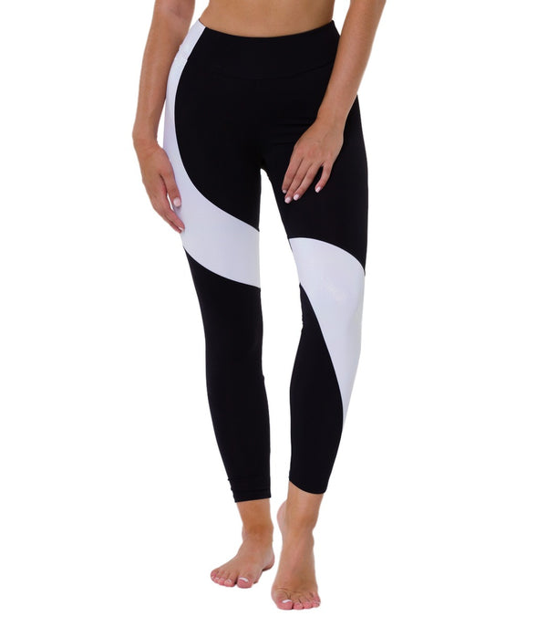 Onzie Asymmetrical Block 7/8 Yoga Leggings