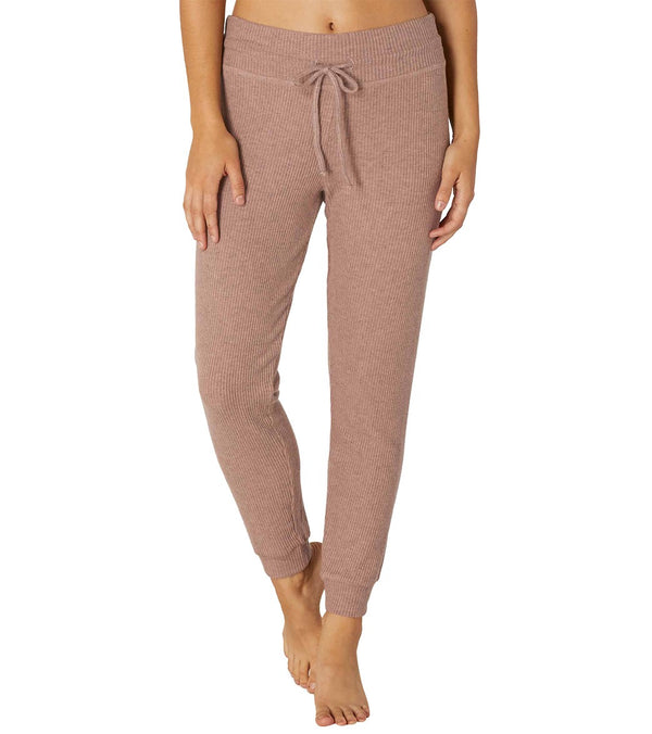 Beyond Yoga Brushed Up Lounge Around Midi Yoga Joggers