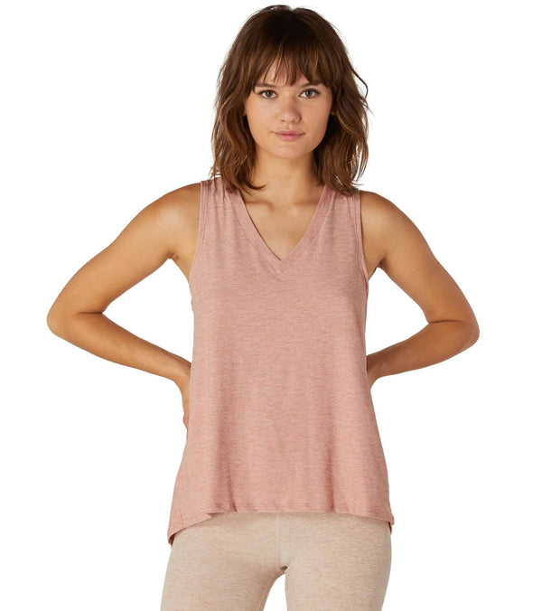 Beyond Yoga All About It Split Back Yoga Tank