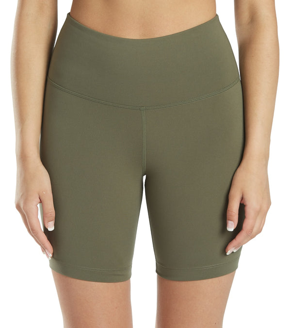 Everyday Yoga High Waisted Biker Shorts 7""