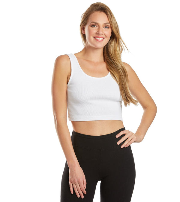 Hard Tail Double Scoop Yoga Tank Top