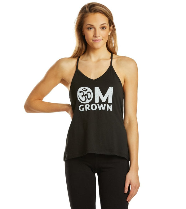 SuperLoveTees Om Grown Yoga Strappy Tank