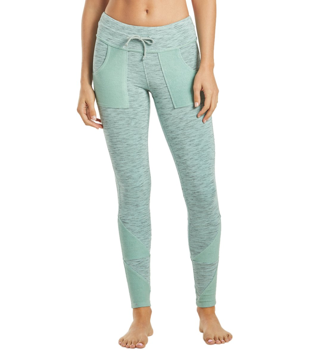 Free People Movement Kyoto Workout Leggings - Mint Cotton