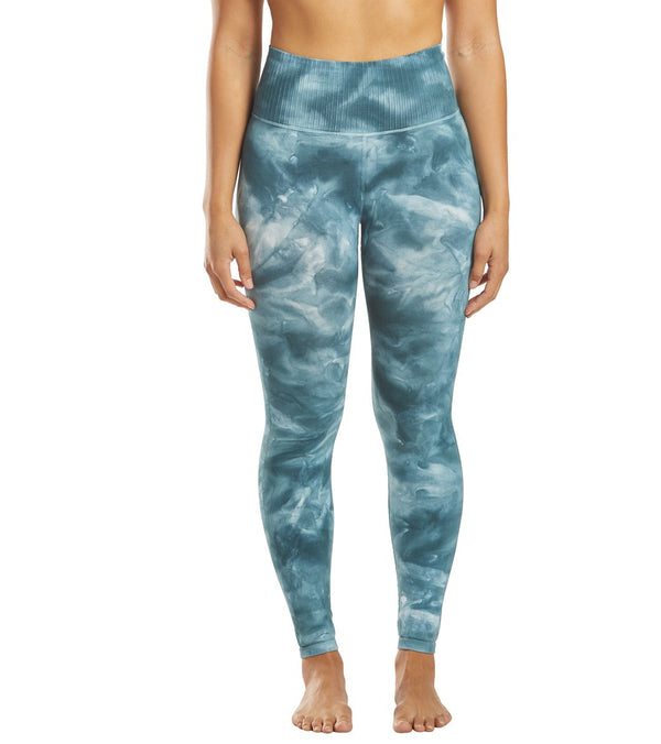 Free People Good Karma Tie Dye Yoga Leggings