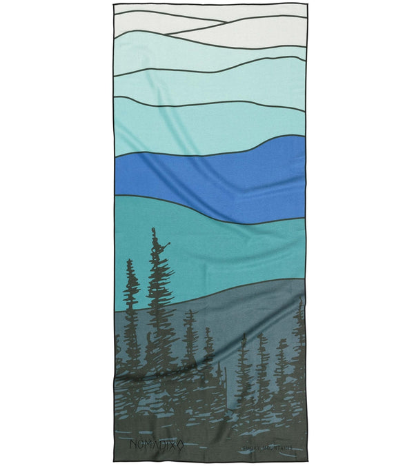 Nomadix Smokey Mountains Yoga Mat Towel