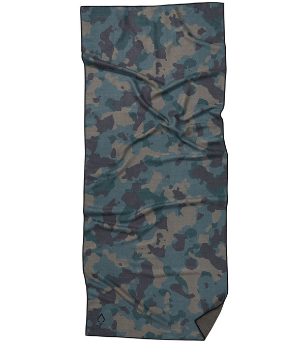 Nomadix Green Camo Yoga Mat Towel