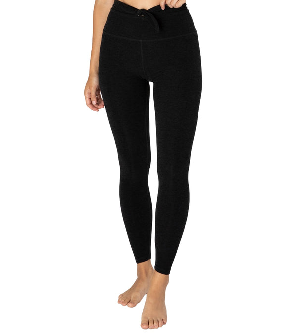 Beyond Yoga Spacedye Knot A Problem High Waisted 7/8 Yoga Leggings