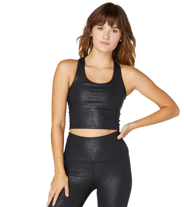 Beyond Yoga Viper First Class Cropped Yoga Tank