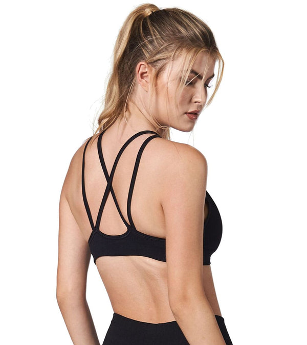NUX Triple Threat Yoga Sports Bra