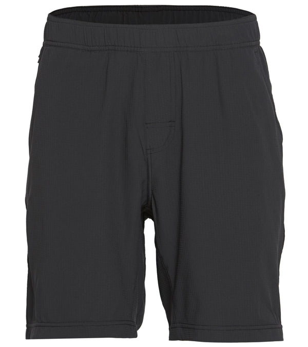 "prAna Men's Heiro 8"" Inseam  Non Lined Yoga Shorts"