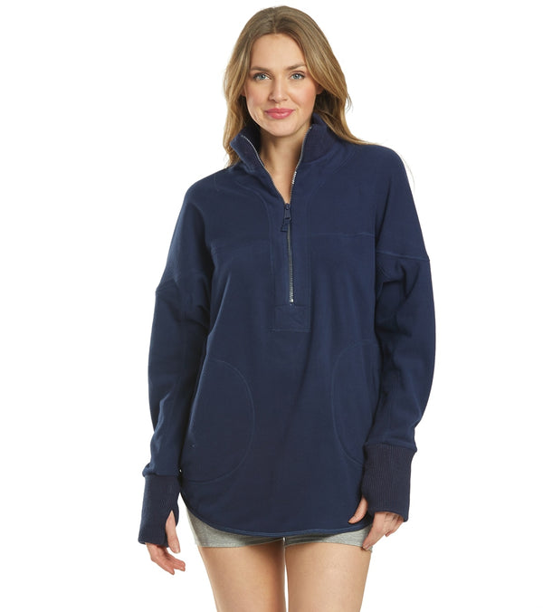 Free People Mountain Dreamin Recycled Half Zip