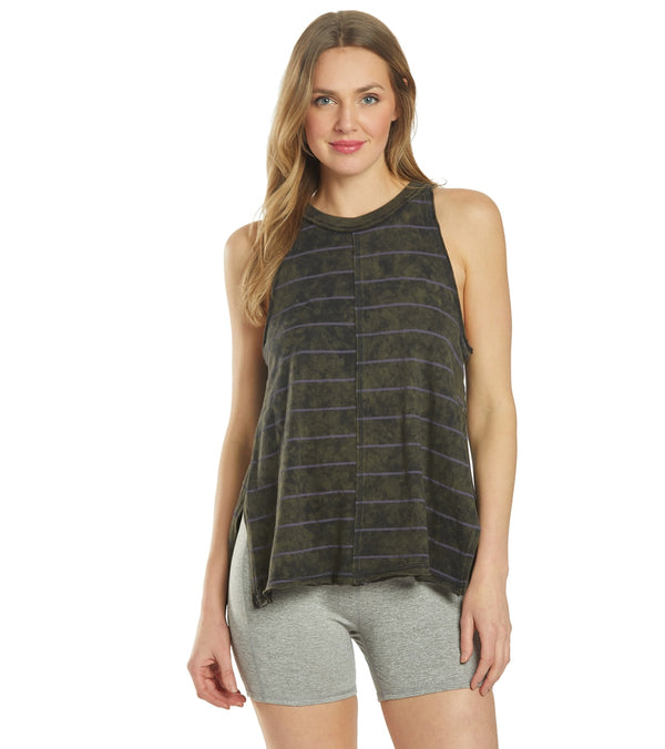 Free People Stripe Fade with the Wave Yoga Tank