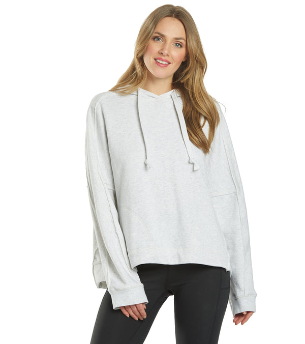Free People Criss Cross Hoodie