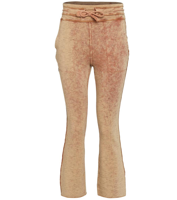 Free People Solid Wild Side Flare Leg Sweatpants