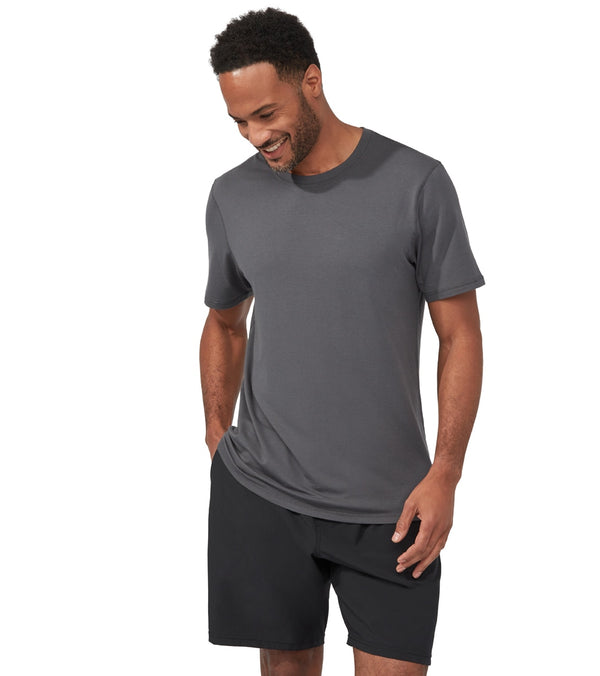 Manduka Men's Performance Crew Neck Short Sleeve Tee