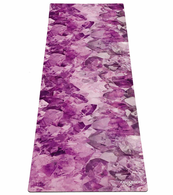"Yoga Design Lab Quartz Yoga Mat Towel Combo 70"" 3.5mm"