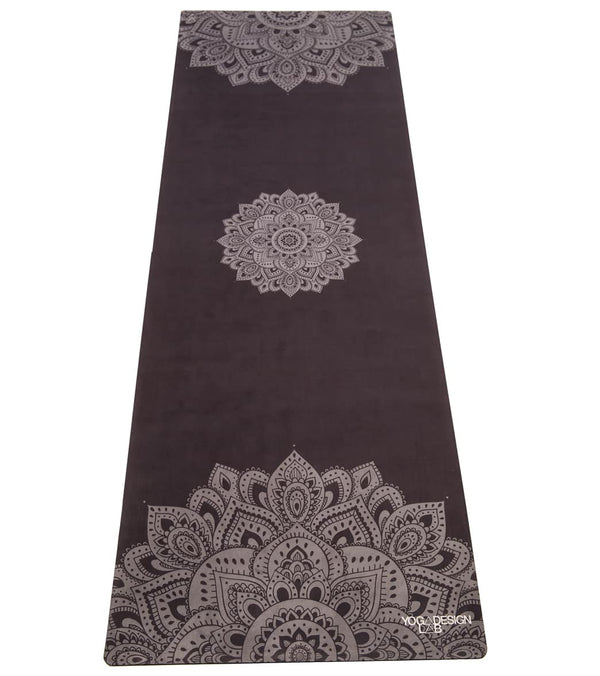 "Yoga Design Lab Mandala Yoga Mat Towel Combo 70"" 3.5mm"