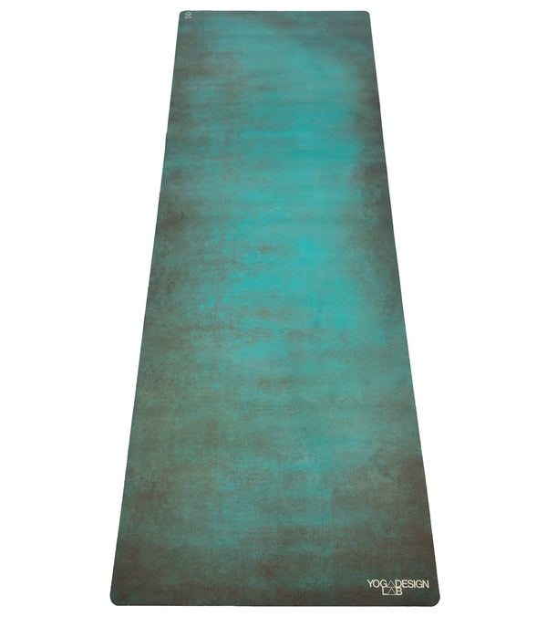 "Yoga Design Lab Aegean Green Yoga Mat Towel Combo 70"" 3.5mm"