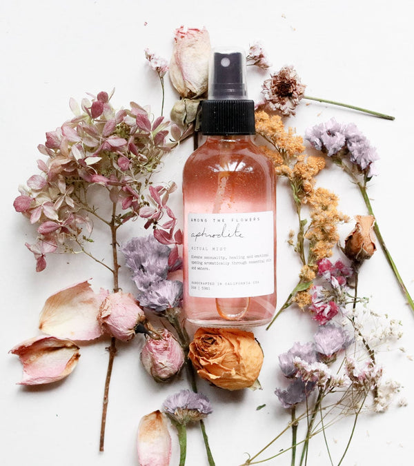 Among The Flowers Aphrodite Aromatherapy Ritual Mist