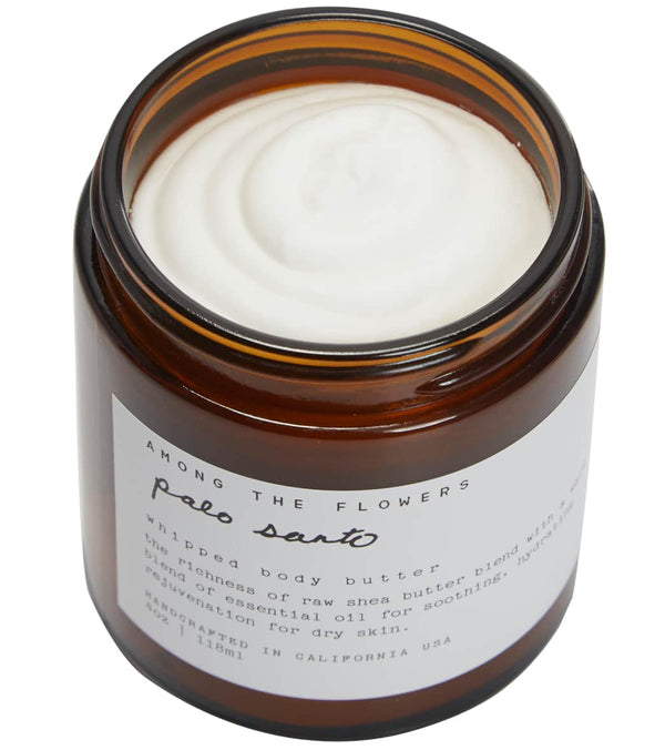 Among The Flowers Palo Santo Whipped Body Butter