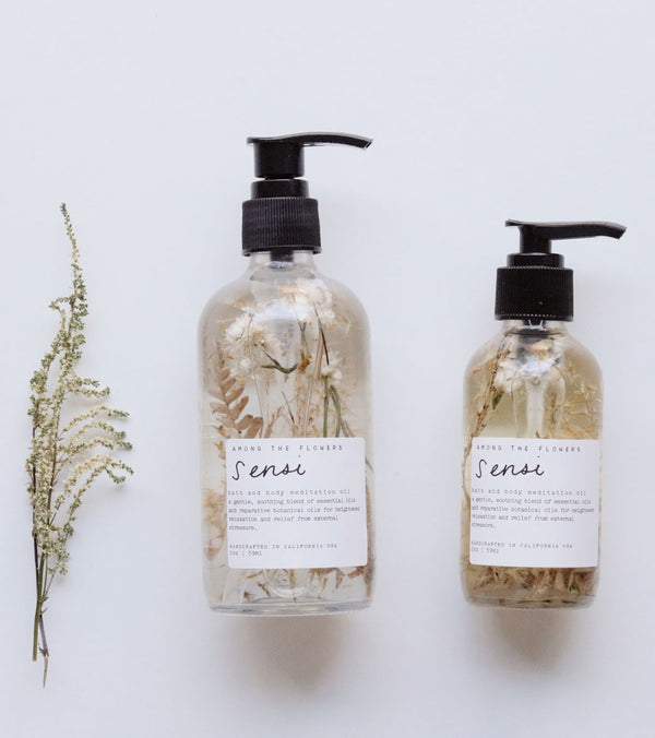 Among The Flowers Sensi 'I Feel' Bath + Body Meditation Oil