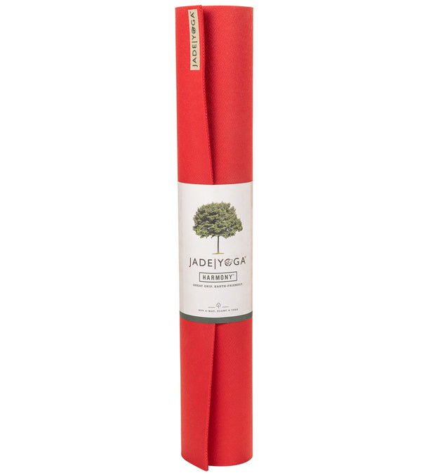 "Jade Yoga Harmony Natural Rubber Yoga Mat 68"" 5mm"
