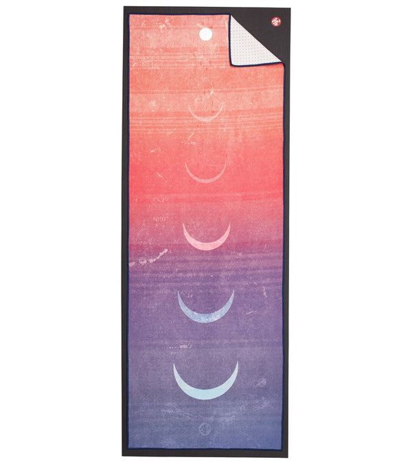 Yogi Toes Gradient Moon Skidless Yoga Mat Towel