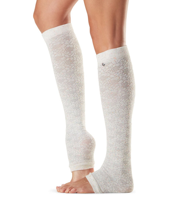 Toesox Jojo Scrunch Knee High Leg Warmers