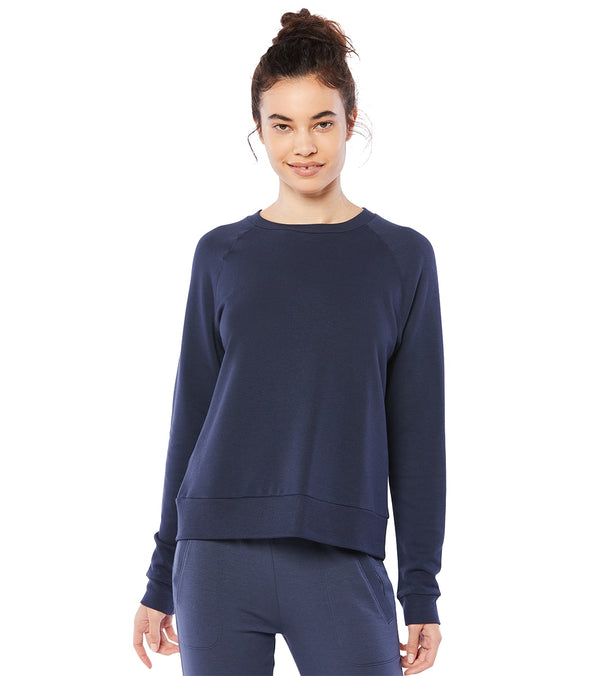 Beyond Yoga Favorite Raglan Crew After Yoga Pullover