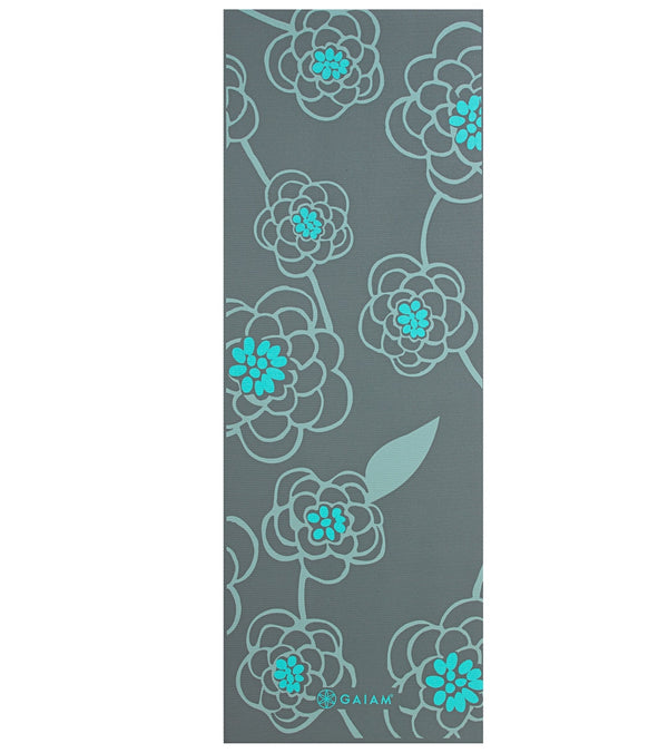 Gaiam Icy Blossom Yoga Mat 6mm