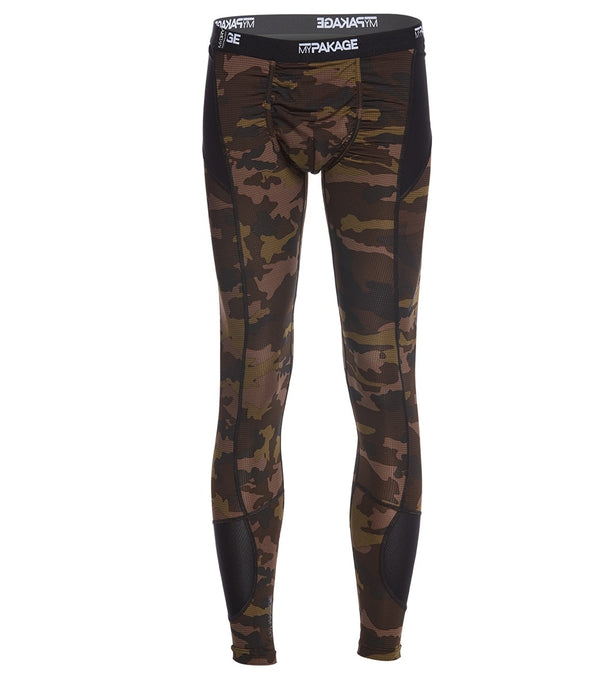 MyPakage Men's Camo Pro-X Full Length Legging