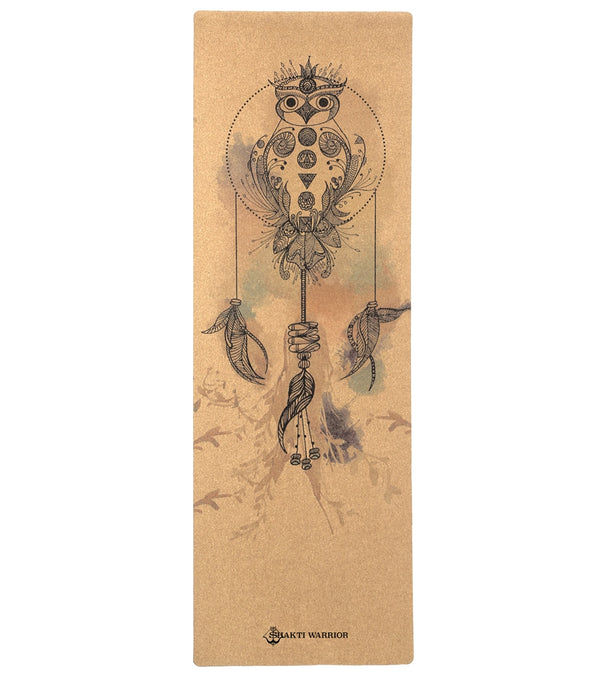 "Shakti Warrior Satya Pro Cork Yoga Mat 72"" 3mm"