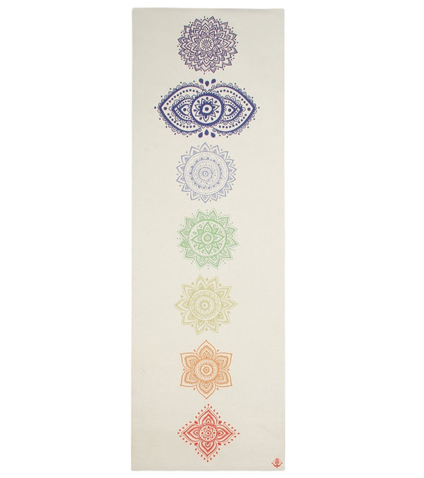 "Shakti Warrior Chakra Yoga Mat 72"" 5mm"