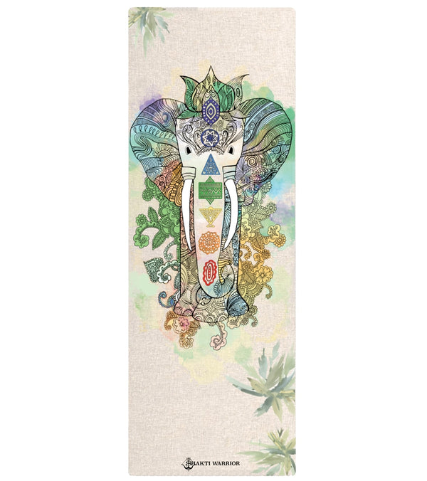 "Shakti Warrior Samskara Hemp Yoga Mat 72"" 3mm"