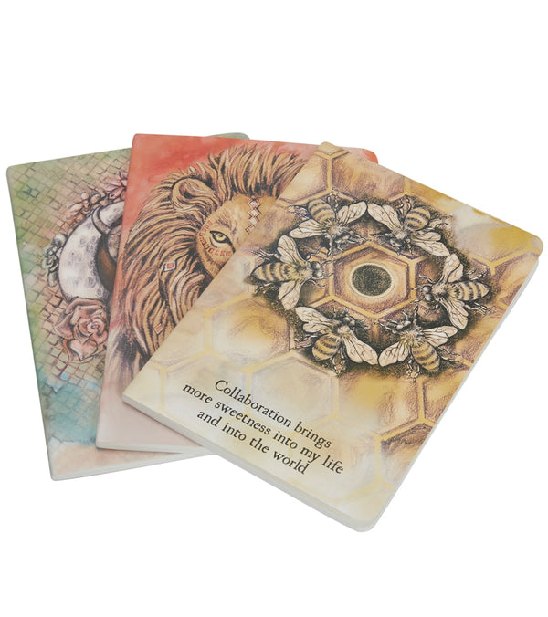 The Moon Deck Spirit Animal Notebooks (3 Pack)