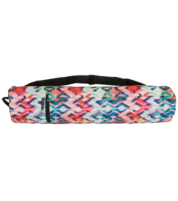 "Vagabond Goods Tropical Ikat Yoga Mat Bag 26""x7"""