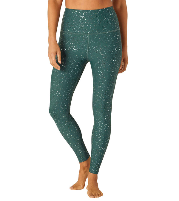 Beyond Yoga Alloy Sparkle High Waisted 7/8 Leggings