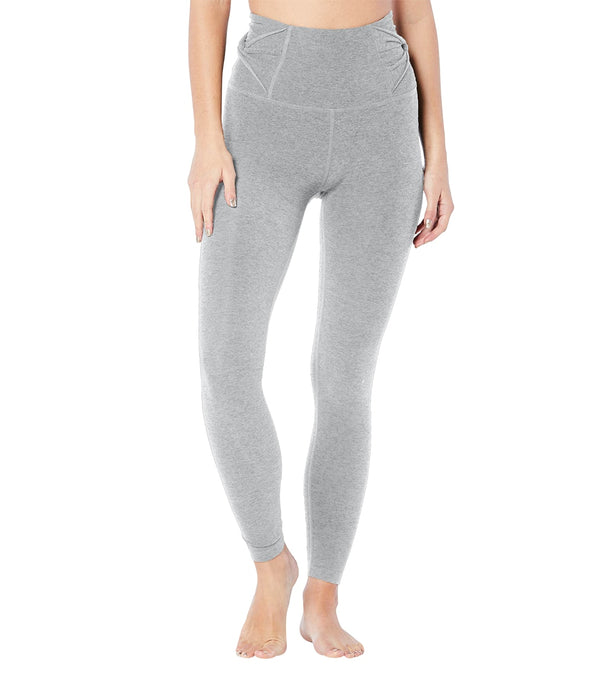 Beyond Yoga Spacedye Twist Through High Waisted 7/8 Leggings
