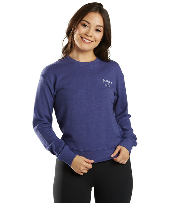 Spiritual Gangster Forever Wild Crew Neck Savasana Pullover