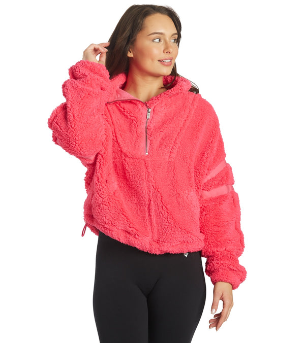 Free People Nantucket Fleece Pullover