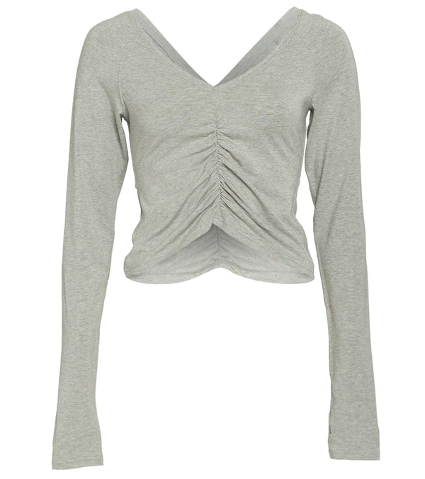 Free People Courtside Long Sleeve Top