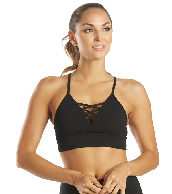 Hard Tail Lattice Yoga Bra Top