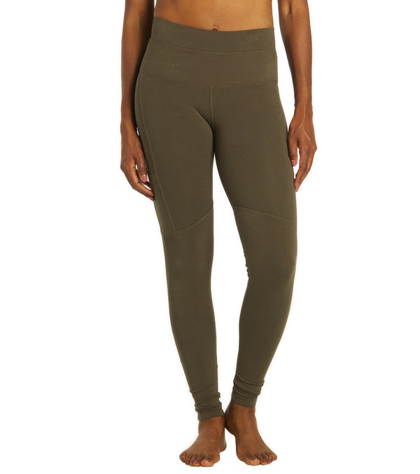 Hard Tail Cargo Pocket High Rise Yoga Leggings