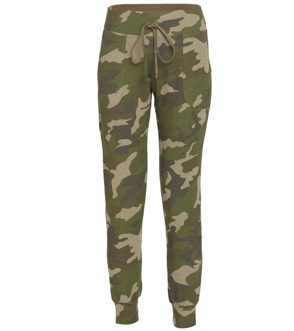 Hard Tail Pull-On Camo Joggers