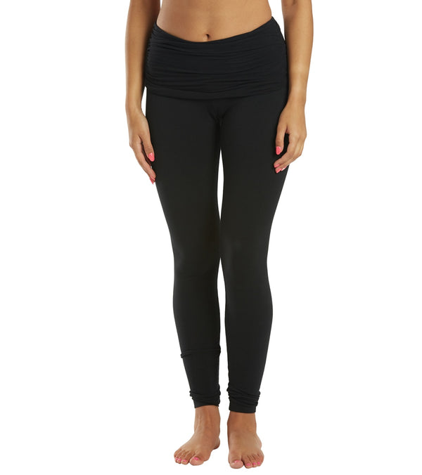 Hard Tail Scrunchy Waistband Ankle Leggings