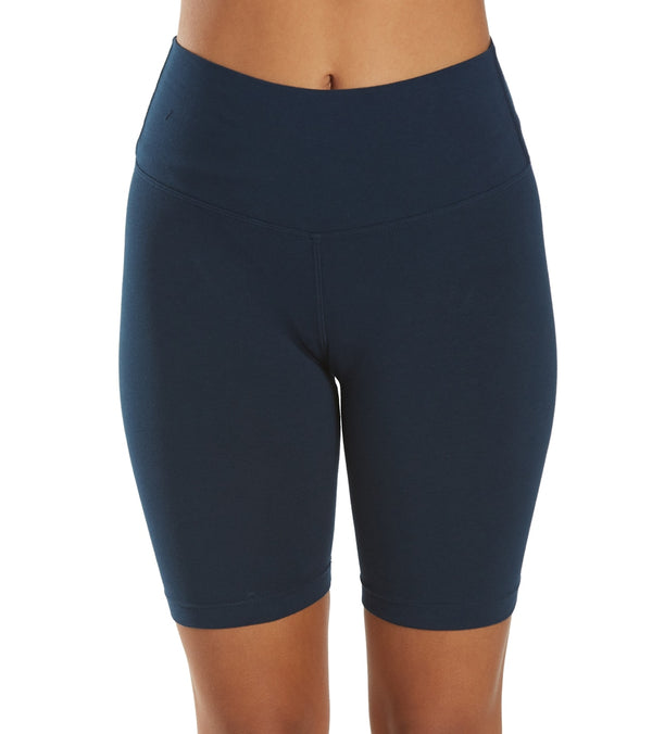 Hard Tail Flat Waist Biker Shorts