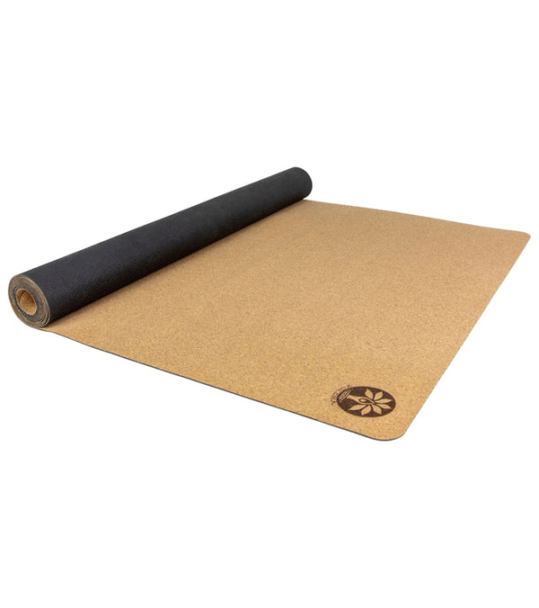 Yoloha Travel Artist Cork Yoga Mat 72""