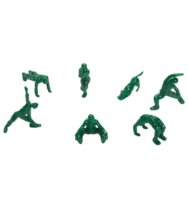 Yoga Joes Series 2 Yoga Joes: Green