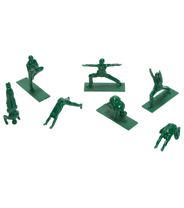 Yoga Joes Series 1: Yoga Joes Green